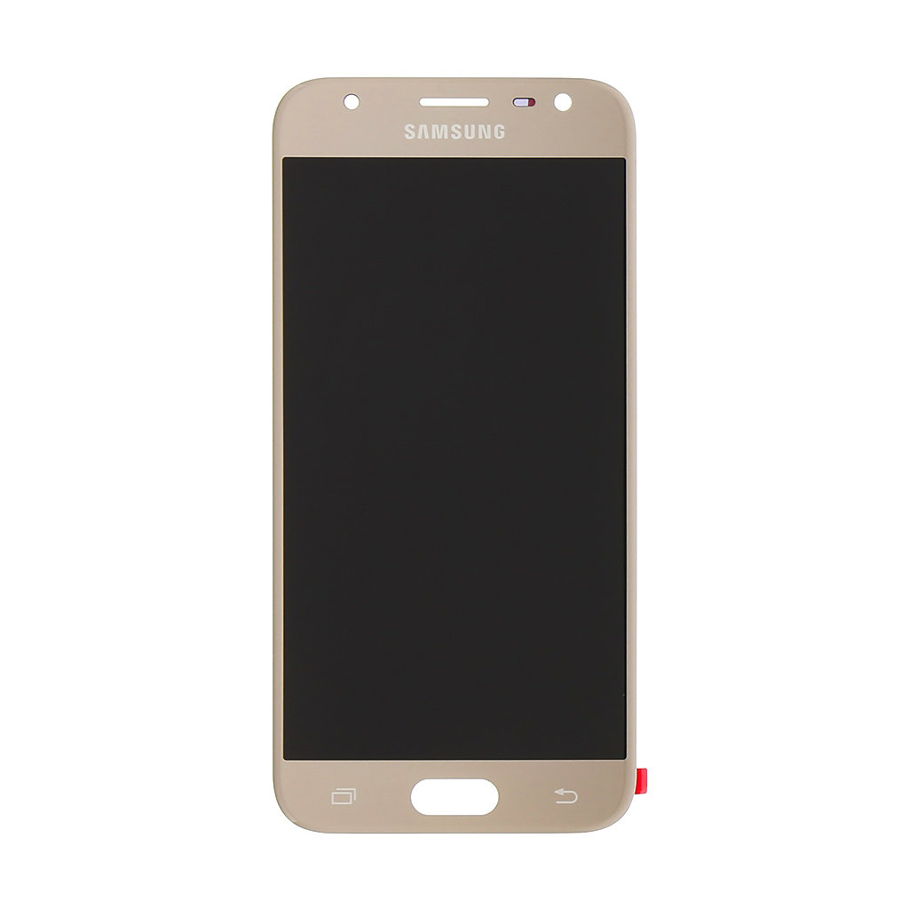 LCD + dotyk Samsung Galaxy J3 2017 Gold (Service Pack)