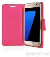 Mercury Bravo Diary pouzdro flip Apple iPhone 5s/SE hot pink