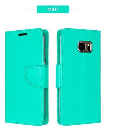 Mercury Bravo Diary pouzdro flip Samsung Galaxy J3 2016 mint