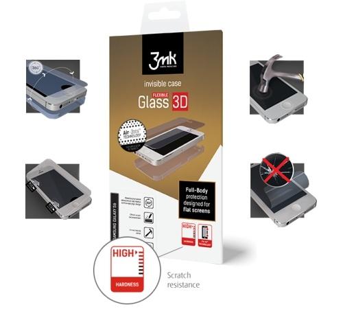 Tvrzené sklo 3mk FlexibleGlass 3D Matte-Coat™ HTC U ULTRA