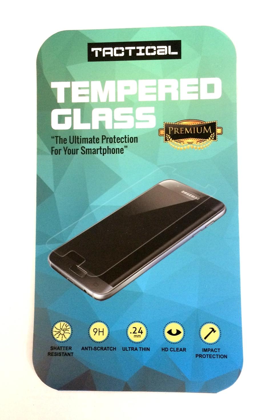 Tvrzené sklo Tactical 2.5D black Sony Xperia XZ1