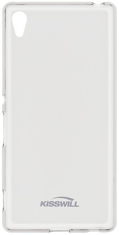 Silikonové pouzdro Kisswill Apple iPhone 4/4S, bezbarvé