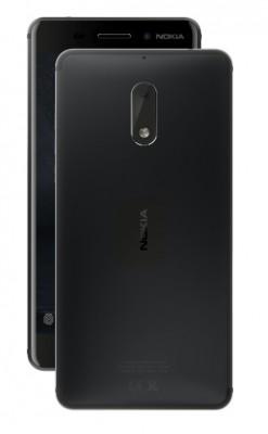 Mobilní telefon Nokia 6 Dual SIM Black