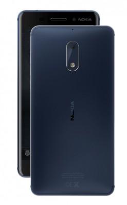 Mobilní telefon Nokia 6 Dual SIM Blue