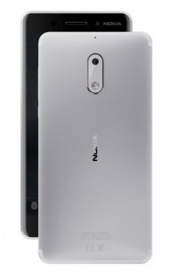 Mobilní telefon Nokia 6 Dual SIM Silver