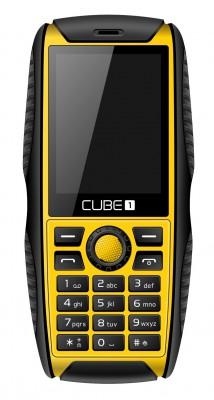 Mobilní telefon CUBE1 S200 Yellow