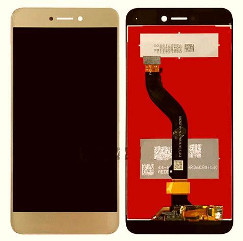 LCD + dotyková deska Huawei P8/P9 Lite 2017 přední kryt gold