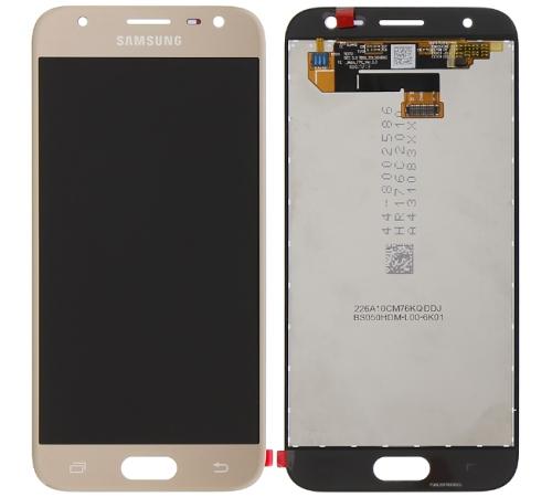 LCD + dotyk Samsung J330 Galaxy J3 2017 zlatá