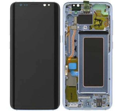 LCD + dotyk Samsung G950 Galaxy S8, modrá (Service Pack)