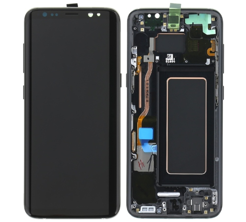 LCD + dotyk Samsung G950 Galaxy S8, black (Service Pack)