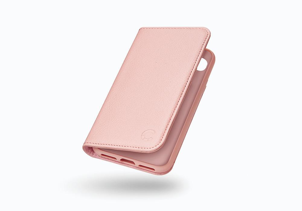 CYGNETT Leather Wallet pouzdro flip Apple iPhone 8 pink
