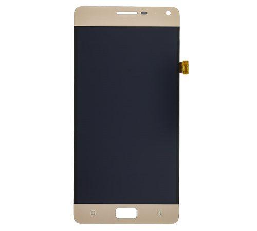 LCD + dotyková deska pro Lenovo P1, P1 Pro zlatá