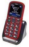Mobilní telefon Aligator A321 Senior červený