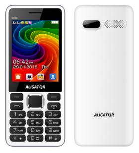 Mobilní telefon Aligator D940 Dual sim White