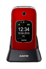 Mobilní telefon Aligator V650 Senior Red