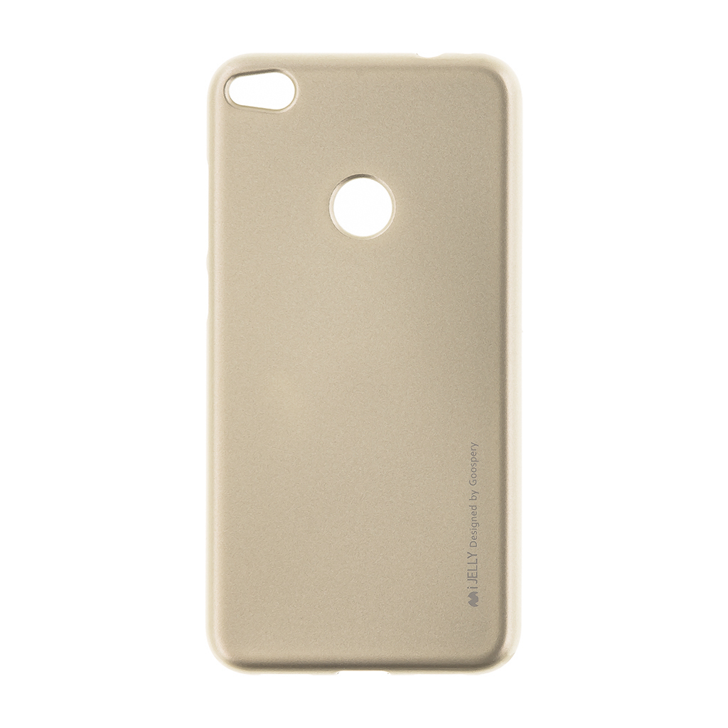 Silikonové pouzdro Mercury i-Jelly Huawei P8/P9 Lite 2017 Gold