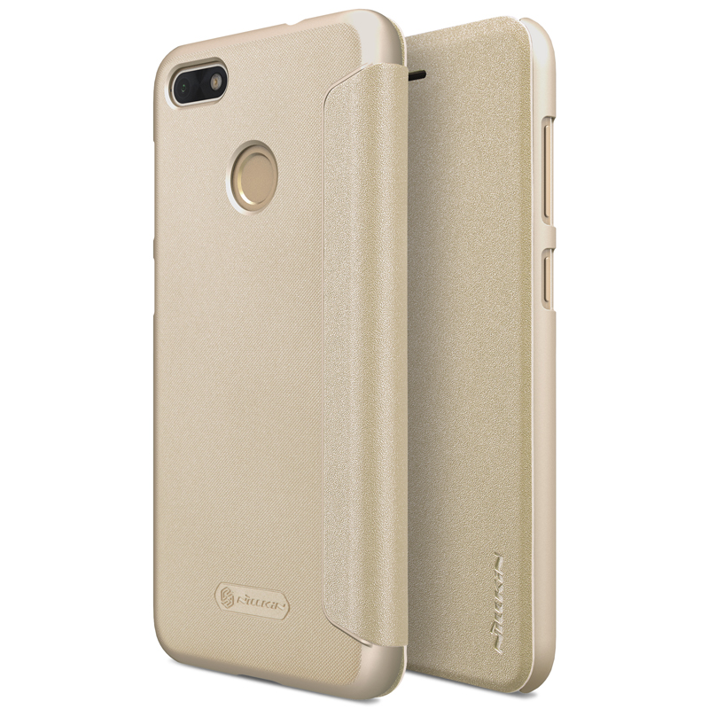 Nillkin Sparkle flipové pouzdro Huawei P9 Lite MINI gold