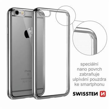Pouzdro ELECTRO JELLY Samsung G950F Galaxy S8 transparentní šedé