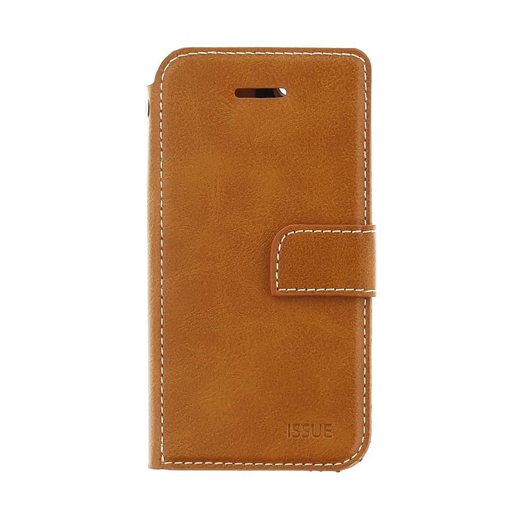 Molan Cano Issue flipové pouzdro Lenovo Moto G5 Plus brown