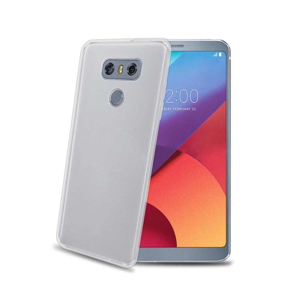 CELLY Gelskin silikonové pouzdro LG G6 bezbarvé
