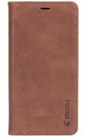 Krusell SUNNE 4 CARD pouzdro flip Apple iPhone X brown