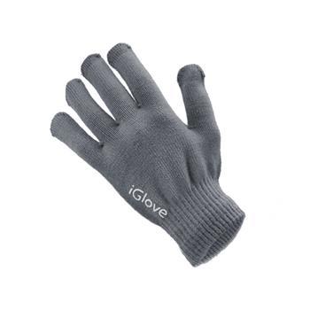Pánské rukavice GLOVES na dotykové displeje grey