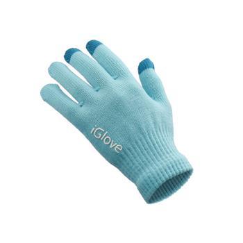 Dámské rukavice GLOVES na dotykové displeje blue