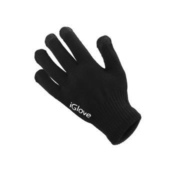 Dámské rukavice GLOVES na dotykové displeje black