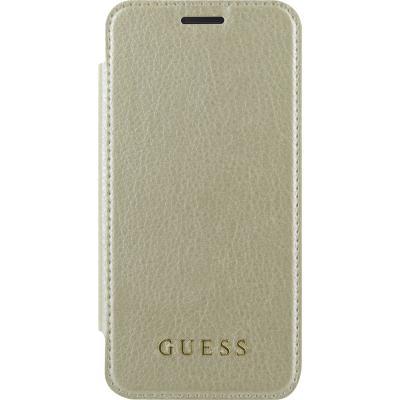 Guess IriDescent Book GUFLBKA3IGLTGO pouzdro flip Samsung Galaxy A3 2017 gold