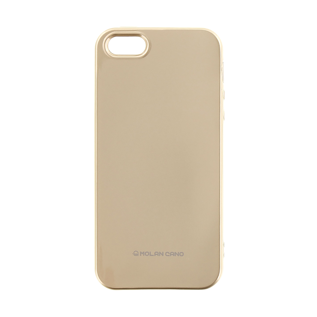 Molan Cano Jelly kryt Apple iPhone 5/5S/SE Gold