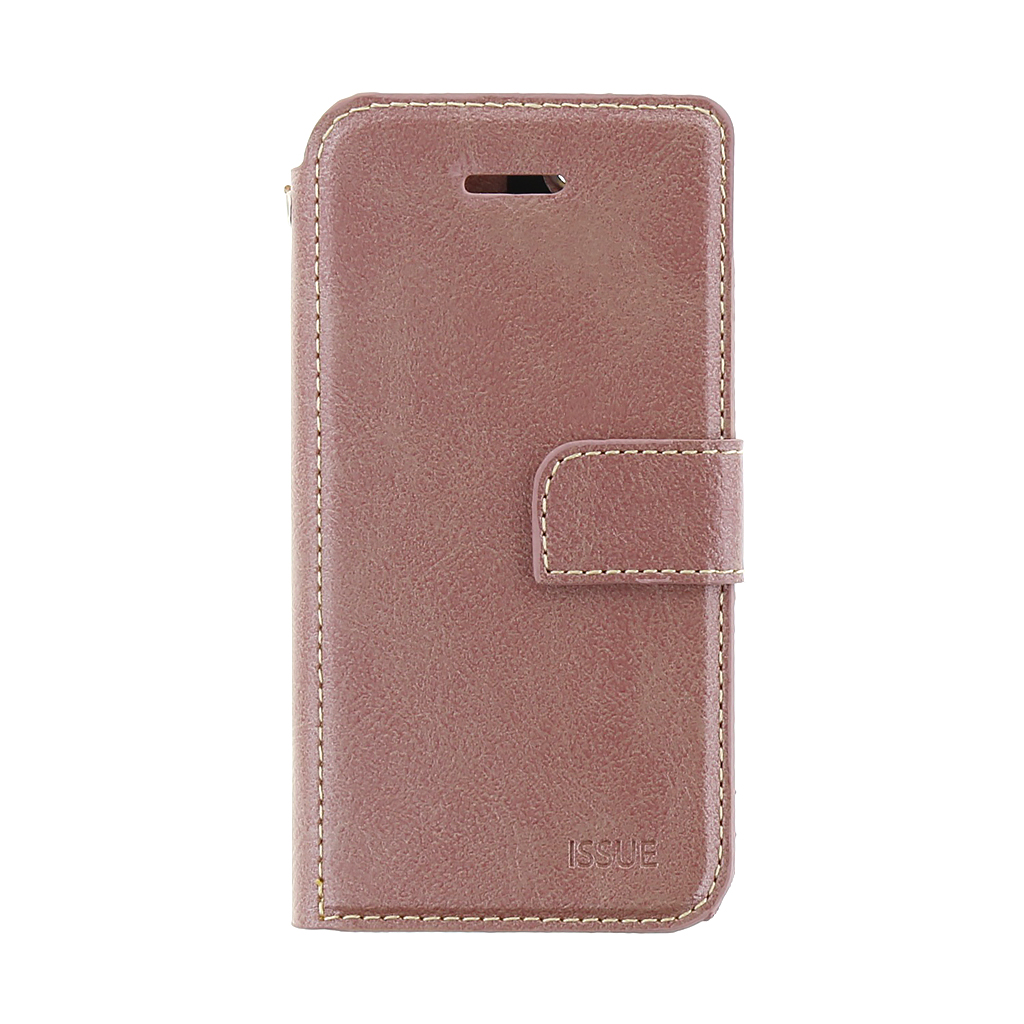 Molan Cano Issue pouzdro flip Apple iPhone 5/5s/SE rose gold