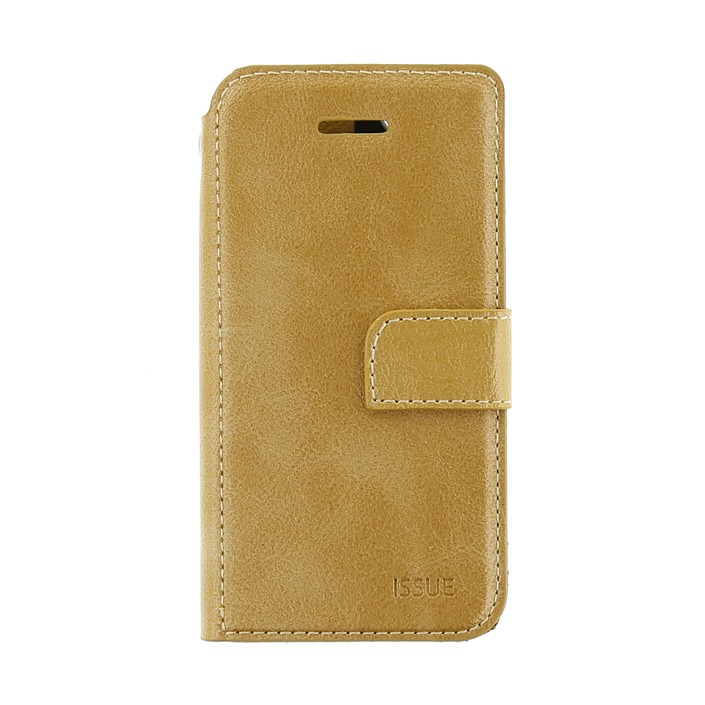 Molan Cano Issue pouzdro flip Apple iPhone 5/5s/SE gold