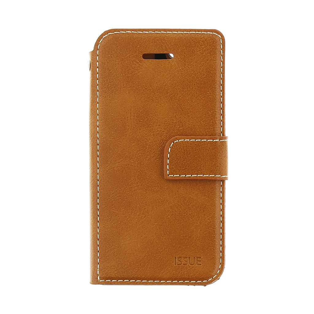 Molan Cano Issue pouzdro flip Apple iPhone 5/5s/SE brown