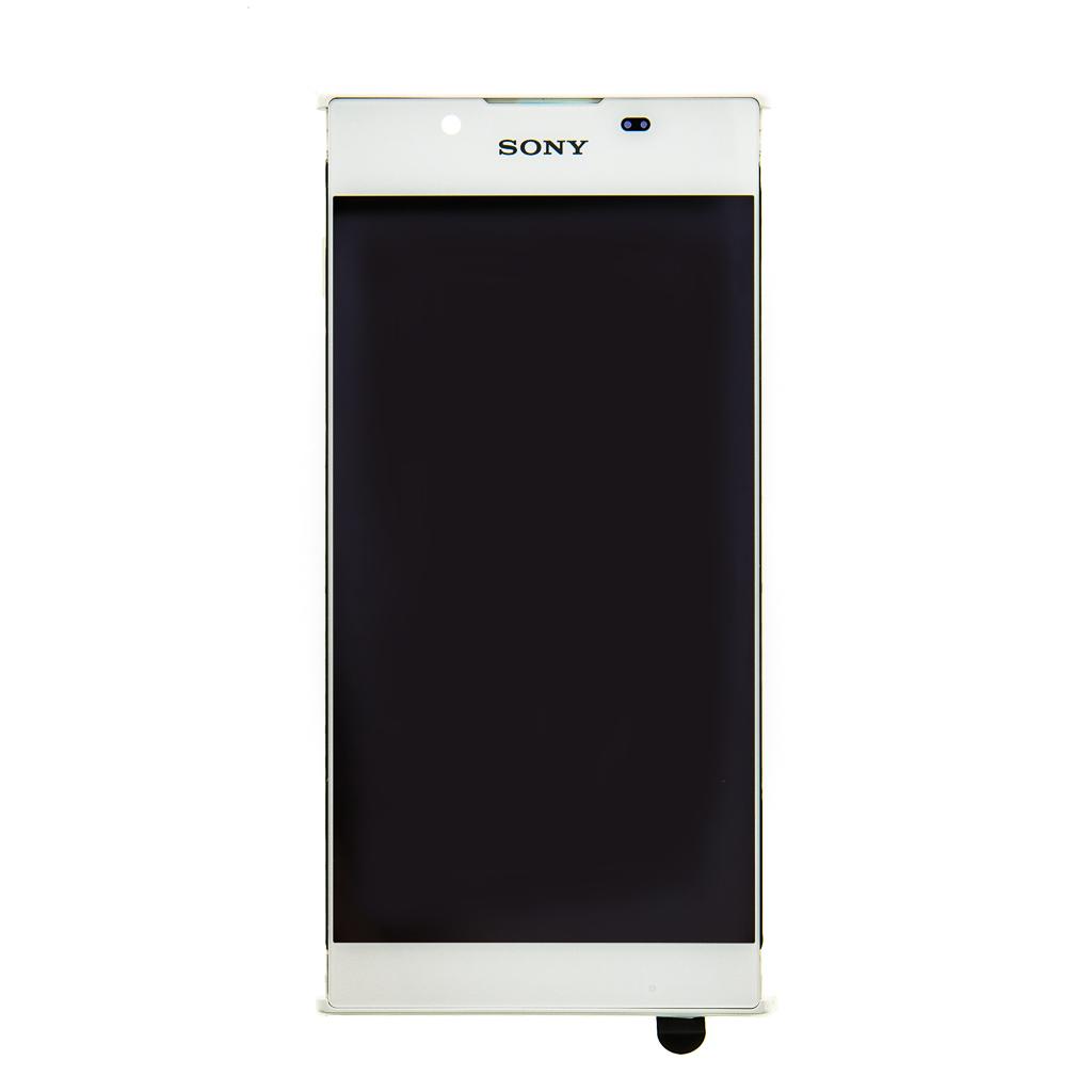 LCD + dotyk + přední kryt Sony G3311 Xperia L1 (Service Pack) white