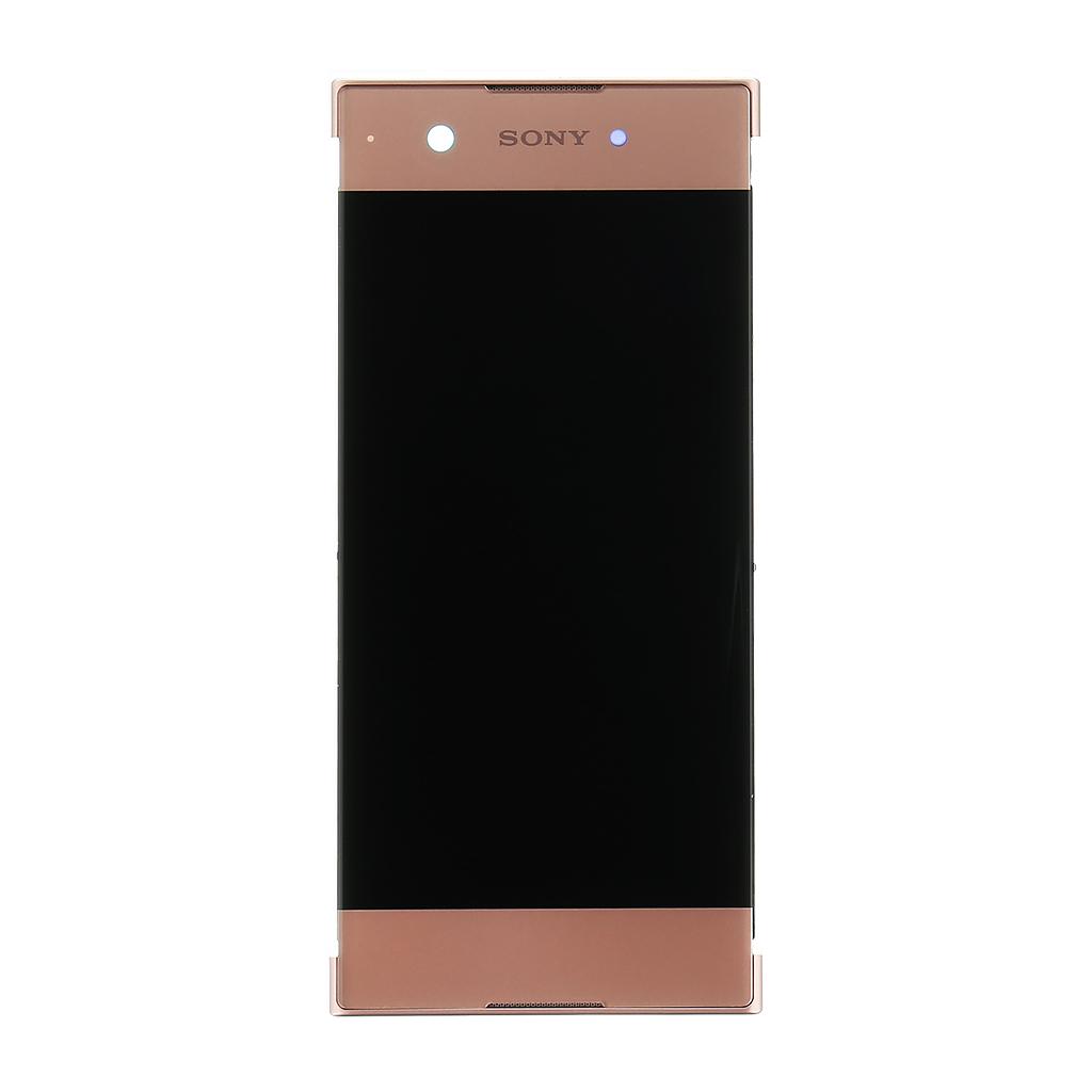 LCD + dotyk + přední kryt Xperia XA1 (Service Pack) rose sony