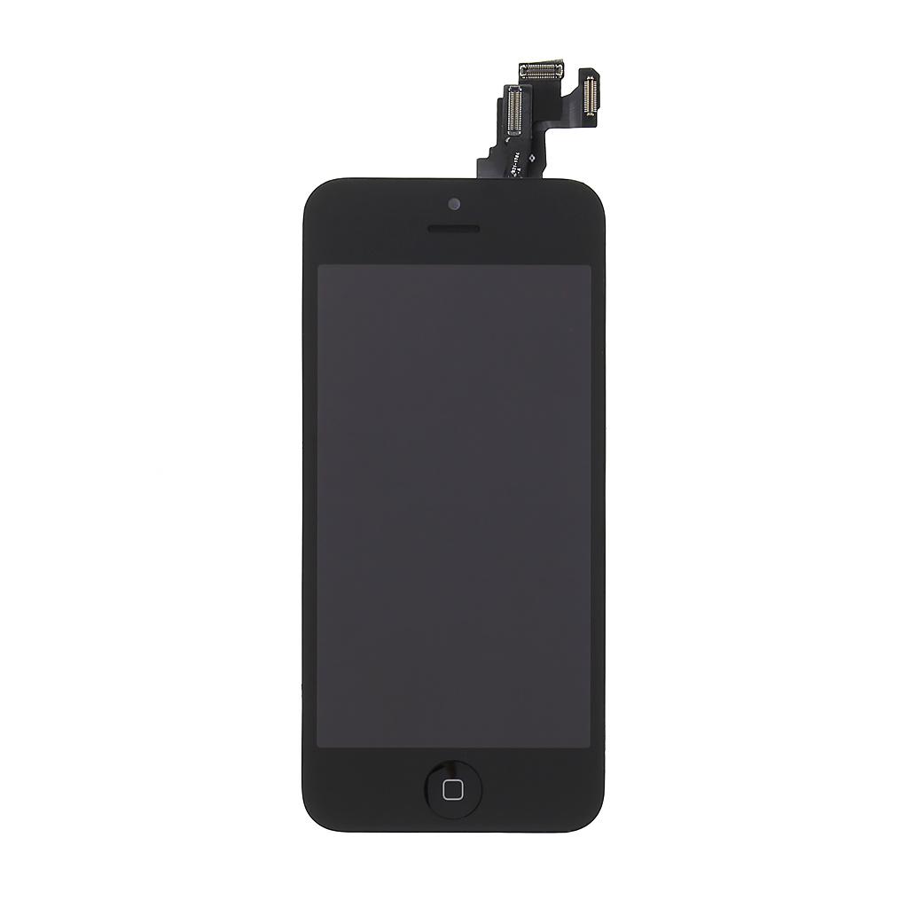 LCD + dotyková deska pro Apple iPhone 5C black vč. Small Parts