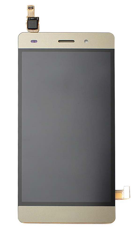 LCD + dotyková deska pro Huawei P8 Lite + přední kryt gold 36b5cc58a5f