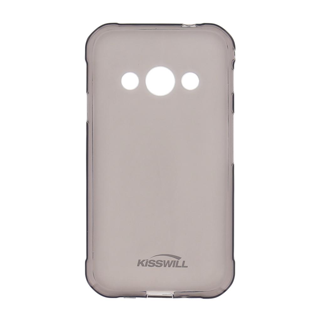 Silikonové pouzdro Kisswill pro pro Apple iPhone X black