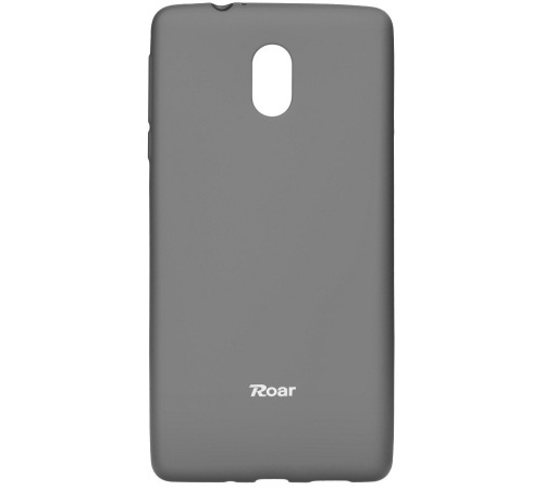 Pouzdro Roar Colorful Jelly Case Nokia 3 šedá