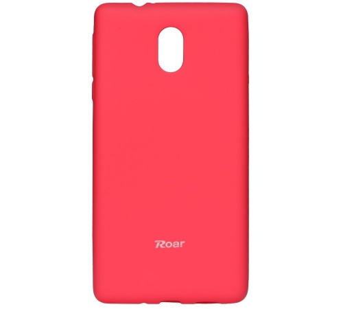 Pouzdro Roar Colorful Jelly Case Nokia 3 tmavě růžová