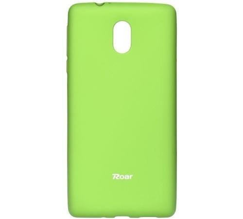 Pouzdro Roar Colorful Jelly Case Nokia 3 limetková