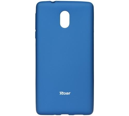 Pouzdro Roar Colorful Jelly Case Nokia 3 modrá