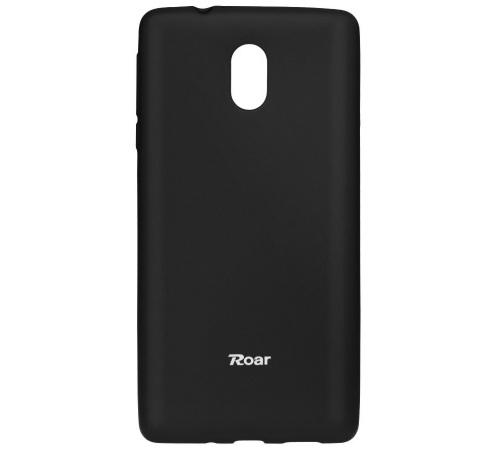 Pouzdro Roar Colorful Jelly Case Nokia 3 černá