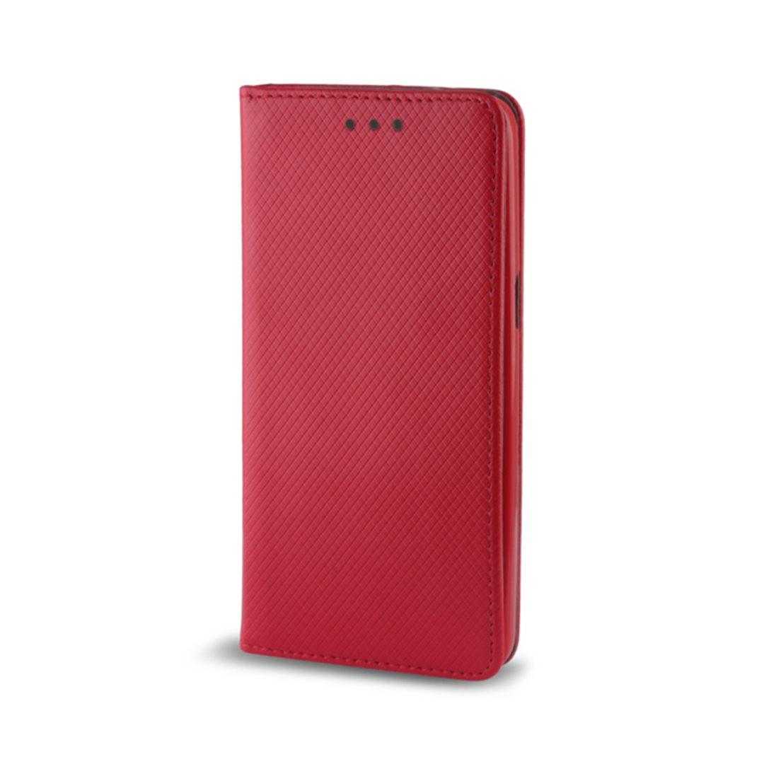 Smart Magnet flipové pouzdro Huawei Y6 2017 red