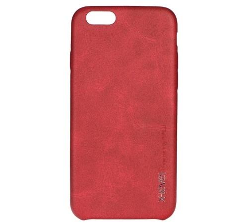 Kryt ochranný XLEVEL Vintage pro Samsung Galaxy S7, červená