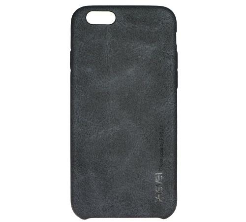 Kryt ochranný XLEVEL Vintage pro Samsung Galaxy S7 edge, černá