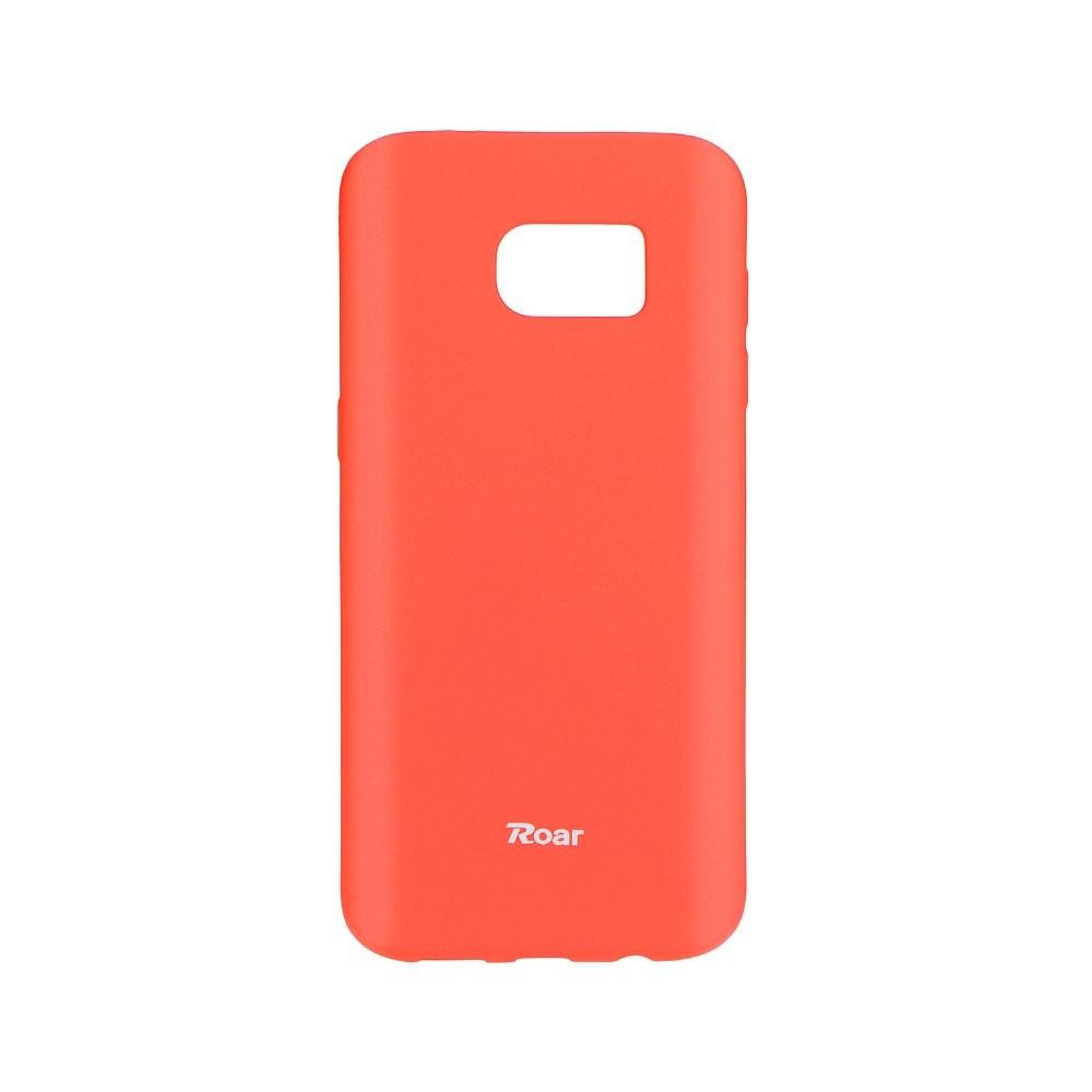 Pouzdro Roar Colorful Jelly Case Samsung Galaxy J3/ J3 2016 Peach Pink