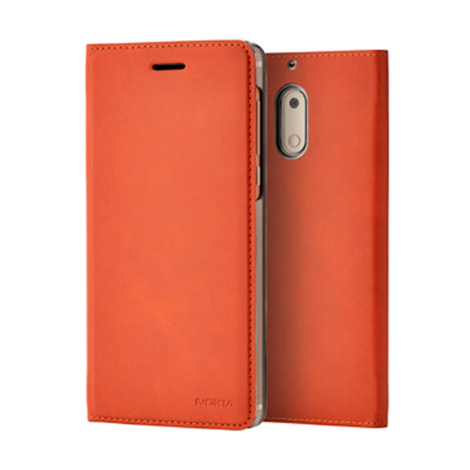 Nokia Slim Flip CP-301 pouzdro Nokia 6 copper brown