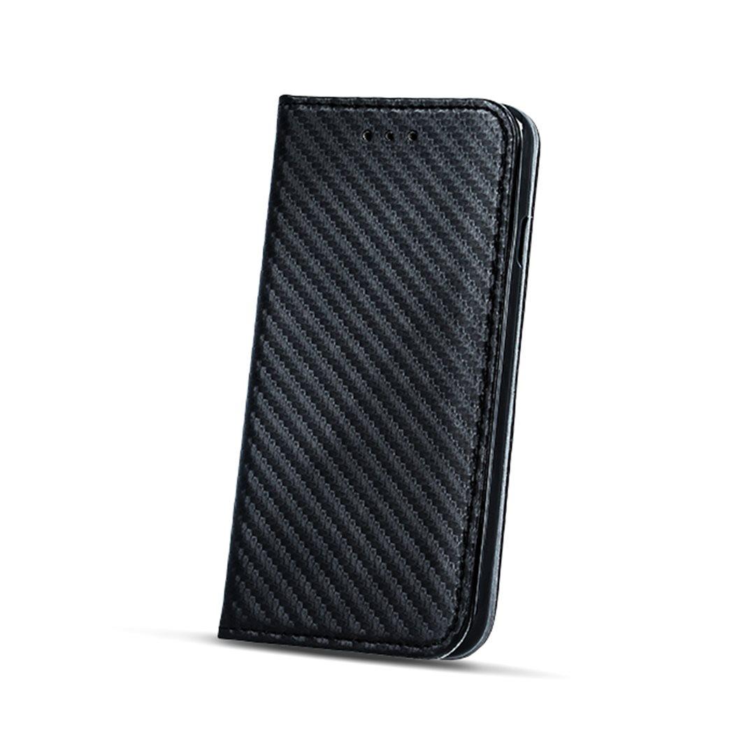 Smart Carbon flipové pouzdro Huawei P10 black