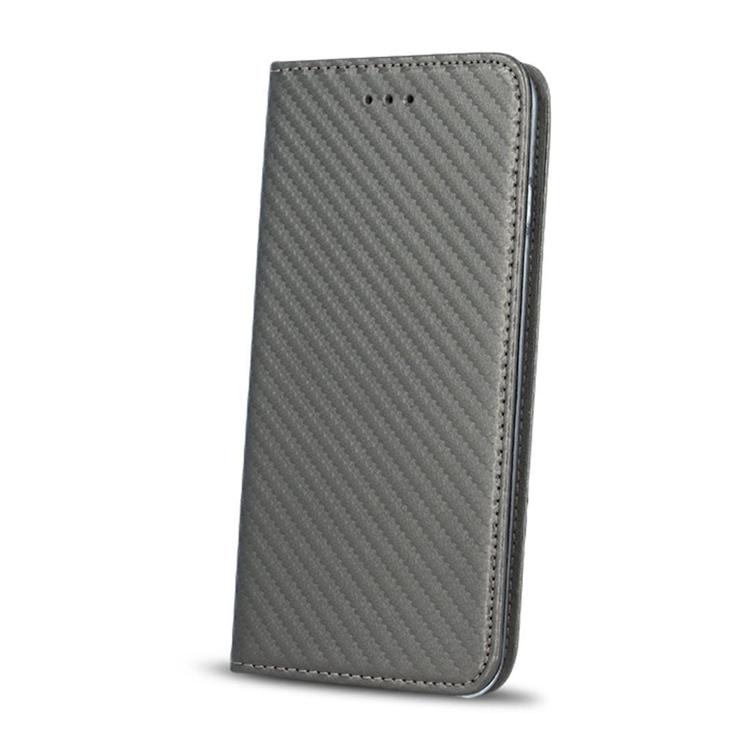 Smart Carbon flipové pouzdro Huawei P10 steel